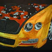 Bentley W66gts Art Print