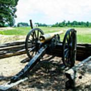 Bentonville Nc Confederate Artillery Art Print