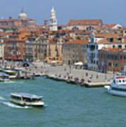 Benvenuto Venice Art Print
