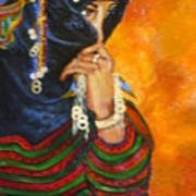 Berbere Marocaine Art Print