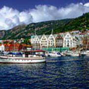 Bergen - Norway Art Print