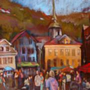 Bergen Square Art Print