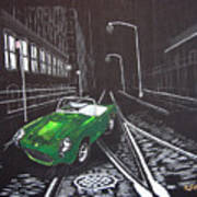 Berkley Sports Car Art Print
