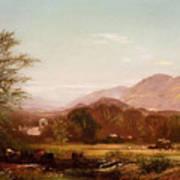 Berkshire Landscape Art Print