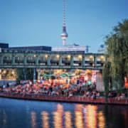 Berlin - Capital Beach Bar Art Print