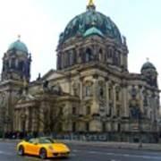 Berlin Dome Art Print