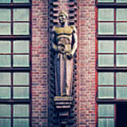 Berlin - Industrial Architecture Art Print