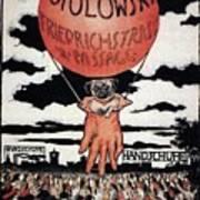 Berlin Potolowsky - Friedrichstrass Passage - Germany - Retro Travel Poster - Vintage Poster Art Print