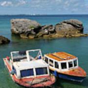 Bermuda Boats Art Print