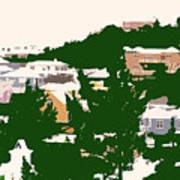 Bermuda Neighborhood Art Print