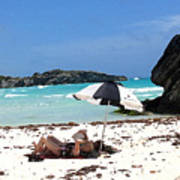 Bermuda On The Beach Art Print