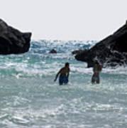 Bermuda Splash Art Print
