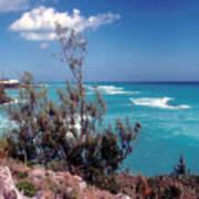 Bermuda Summer Shore Art Print