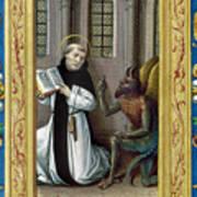Bernard De Clairvaux Art Print