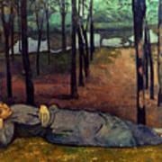 Bernard: Madeleine, 1888 Art Print