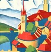 Berne Switzerland - Restored Art Print
