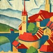 Berne Switzerland - Vintagelized Art Print