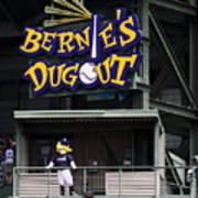 Bernies Dugout Art Print