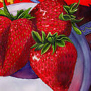 Berry Berry Berry Good Art Print