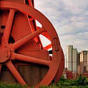 Bessemer Converter - Steel City - Pittsburgh Art Print