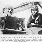 Bessie Coleman, Us Aviation Pioneer Art Print