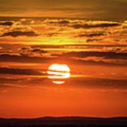 Best Sunset Ever Art Print
