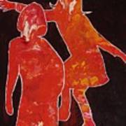 Besties - Dancing Art Print