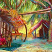 Betawar Village Life Art Print