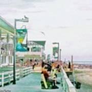 Bethany Beach Circa 2004 Art Print