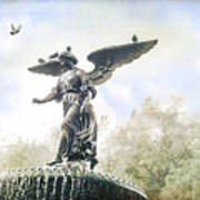 Bethesda Angel Art Print