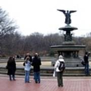 Bethesda Fountain Art Print