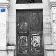 Bethlehem - Aged Door Art Print