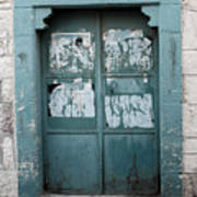 Bethlehem - Blue Door Art Print