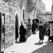 Bethlehem - Hard Working Woman Art Print