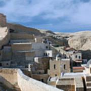 Bethlehem - Mar Saba Monstary 2010 Art Print