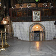 Bethlehem - Woman During Pray Art Print