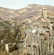 Bethlehem Mar Saba Monastery Art Print