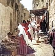 Bethlehem Market 1900 Art Print