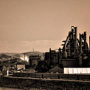 Bethlehem Steel Art Print by Bill Cannon