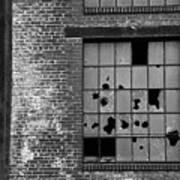 Bethlehem Steel Window Art Print