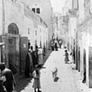 Bethlehem The Main Street 1800s Art Print