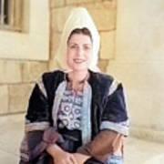 Bethlehem Traditional Dress 1940 Art Print