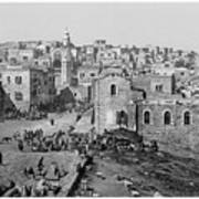 Bethlehem Year 1890 Art Print