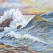 Beth's Sea Art Print