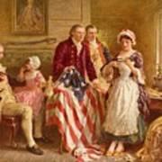Betsy Ross 1777 Art Print