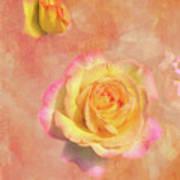 Betsy's Roses Art Print