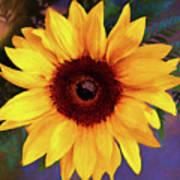 Betsy's Sunflower Art Print