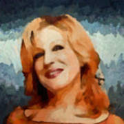 Bette Midler Collection - 1 Art Print