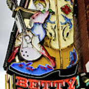 Betty Boots - Nashville Tn Art Print