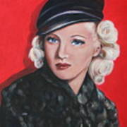 Betty Grable Art Print